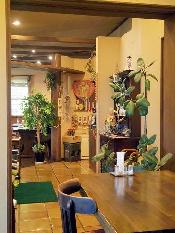 茨城県猿島郡境町宮本町にある洋食店「レストラン クラコフ RESTAURANT KRAKOW」店内