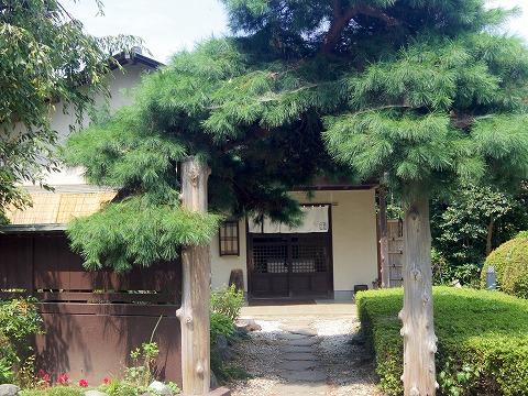 埼玉県川口市東内野にある和食のお店「日本料理ふじ」外観