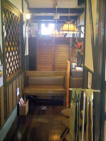 茨城県古河市西牛谷にある洋食・ハンバーグの「レストラン フランドル」店内