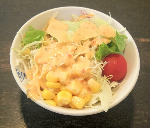 茨城県つくばみらい市小島新田にあるステーキ、ハンバーグのお店「肉のふじ屋」ステーキ400gをふじセットで