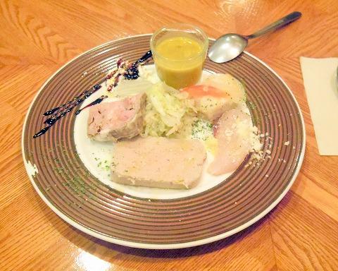 東京都練馬区関町北4丁目にあるフレンチのお店「Bistro CAFE GAVA ビストロカフェガヴァ」前菜7種盛り合わせ