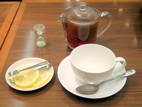 東京都練馬区光が丘5丁目にある「GINZA Cozy Corner 銀座コージーコーナー 光が丘店」オリジナルブレンドティー(レモン)