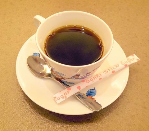 埼玉県川口市南鳩ヶ谷4丁目にある和食のお店「かごの屋 鳩ヶ谷店」ホットコーヒー