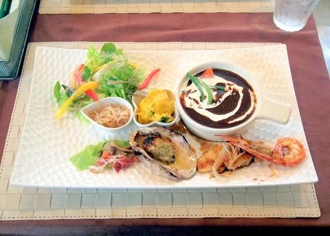 茨城県ひたちなか市大字高野にあるフレンチ、カフェの「RESTAURANT+CAFE Dahlia レストラン+カフェ ダリア」せいたくプレート
