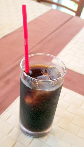 茨城県ひたちなか市大字高野にあるフレンチ、カフェの「RESTAURANT+CAFE Dahlia レストラン+カフェ ダリア」アイスコーヒー