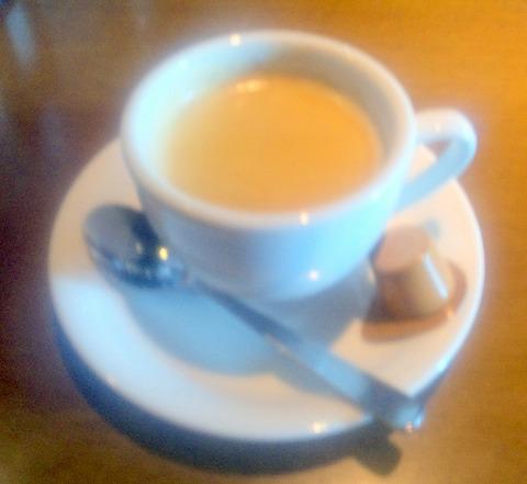 埼玉県越谷市東大沢4丁目にある焼肉店「いきな黒塀 越谷東大沢店」焼肉御膳 極 コーヒー