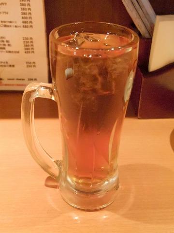 東京都江東区白河1丁目にある焼鳥、居酒屋の「やきとり道場 清澄白河店」ウーロン茶
