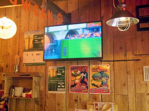 神奈川県川崎市川崎区小川町にあるハンバーガー、洋食のお店「EAST WOOD イーストウッド」店内