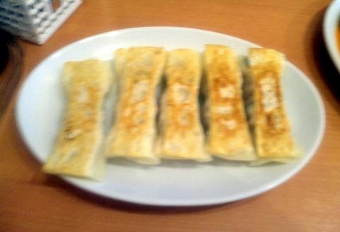 埼玉県越谷市東大沢3丁目にある中華料理「中国料理 牡丹飯店 本店」焼き餃子