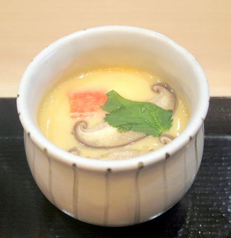 茨城県水戸市笠原町にある寿司、和食の「寿司ダイニング 福円」茶碗蒸し