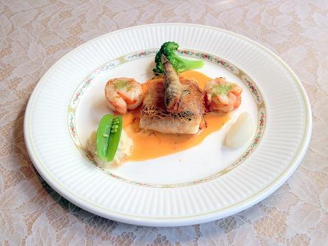 埼玉県さいたま市見沼区深作3丁目にあるフランス料理店「トロワ・ボー  Trois Beaux」Bランチのメイン