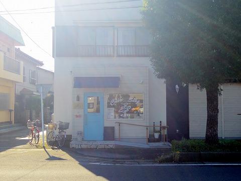 埼玉県春日部市栄町1丁目にある「カフェいちか Cafe Ichika」外観