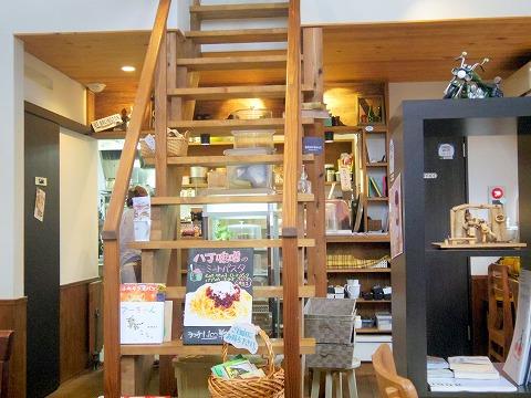 茨城県つくば市高見原1丁目にあるカフェ「marunacafe まるなカフェ」店内