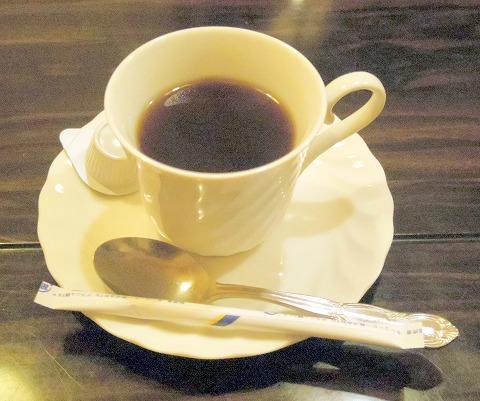 茨城県水戸市南町1丁目にある和食、郷土料理の「五鐵 夢境庵」食後のホットコーヒー