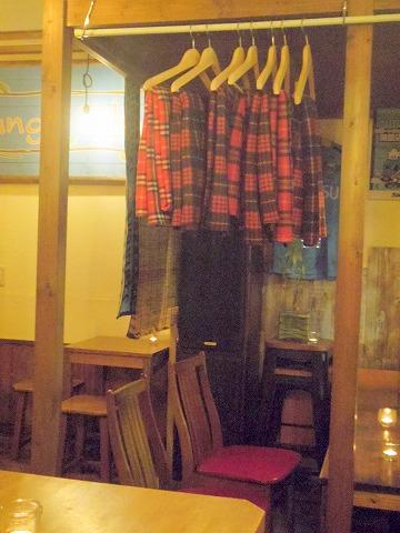 神奈川県川崎市中原区木月住吉町にある喫茶店「旅する珈琲屋OrangeBlue」店内