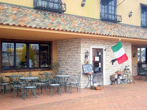 茨城県龍ケ崎市松ケ丘2丁目にあるイタリアンの「Pizzeria Tatsunoko ピッッェリア たつのこ」外観