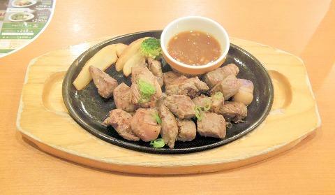石川県加賀市作見町にあるファミリーレストラン「ココス COCO'S 加賀店」カットサーロインステーキ260g