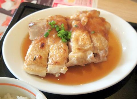 千葉県千葉市中央末広5丁目にあるファミリーレストラン「デニーズ 蘇我店」チキンステーキと牡蠣フライ定食