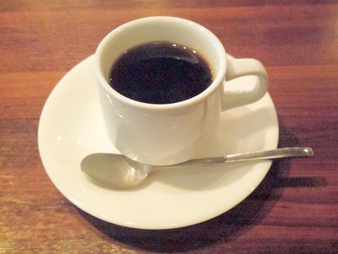 千葉県千葉市中央区富士見2丁目にあるイタリア料理のお店「Ganzo」セットのドリンク(ホットコーヒー)