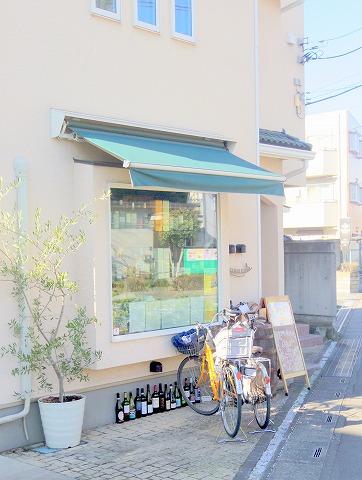 埼玉県さいたま市中央区下落合にあるイタリア料理のお店「アクアコッタ aqua cotta」外観