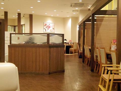 神奈川県相模原市南区南台3丁目にあるファミリーレストラン「COCOS  ココス 小田急相模原店」店内