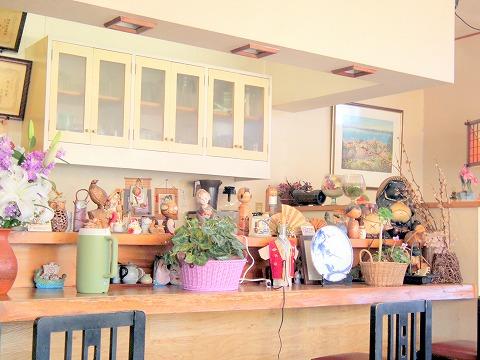 茨城県ひたちなか市馬渡にあるとんかつ店「とんかつ とん竹」店内