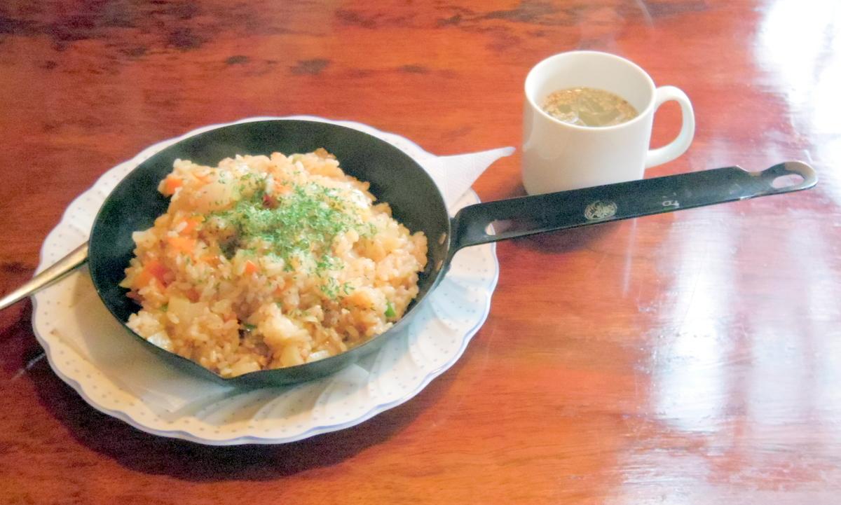 茨城県ひたちなか市部田野にある喫茶店「山茶郷」ヤンキーピラフ