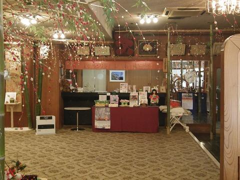 埼玉県さいたま市岩槻区仲町1丁目にある「料亭  ほてい家」店内