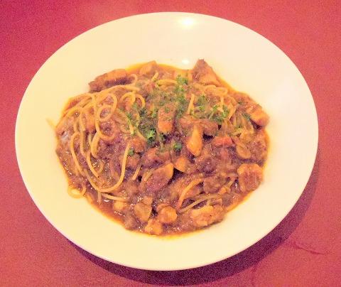 埼玉県さいたま市岩槻区南平野4丁目にあるイタリア料理のお店「Plume Blanc   プリュームブラン」豚バラ肉のトマトソース