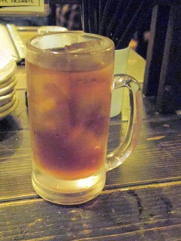 千葉県市川市相之町4丁目にある居酒屋「串じまん 南行徳店」ウーロン茶