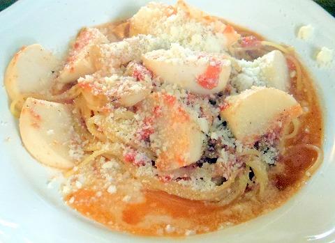 埼玉県上尾市原市にあるイタリア料理店「ビストロ ミレ BISTRO MIRE」カブのサルシッチャトマトソース