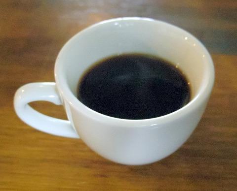 埼玉県上尾市原市にあるイタリア料理店「ビストロ ミレ BISTRO MIRE」コーヒー