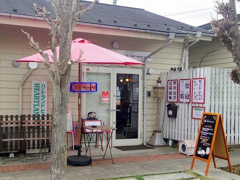 埼玉県入間市東町1丁目にある「カフェ 彩の森 cafe SAINOMORI」外観
