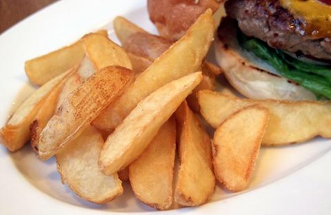 神奈川県横浜市中区本牧原にあるハンバーガー、カフェの「BURGER'S+CAFE  hasamu」ベーコンチーズバーガー