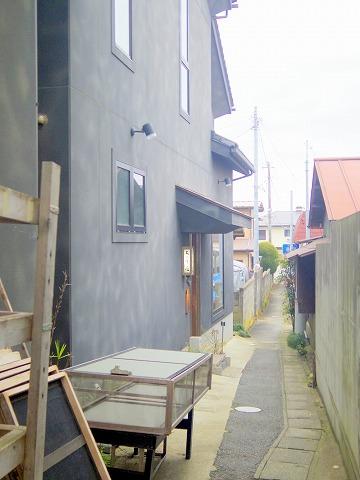 茨城県東茨城郡大洗町磯浜町にある魚介、海鮮料理の「ちゅう心」外観