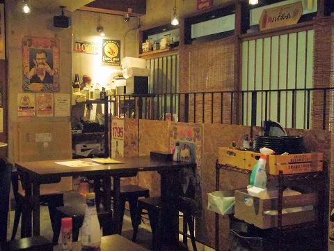 神奈川県川崎市中原区木月2丁目にある「居酒屋ハイカラ しゅのいち」店内