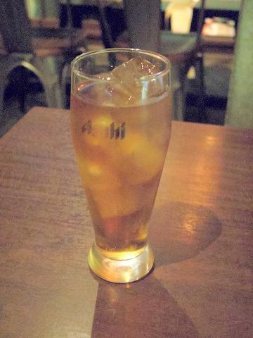神奈川県川崎市中原区木月2丁目にある「居酒屋ハイカラ しゅのいち」ウーロン茶