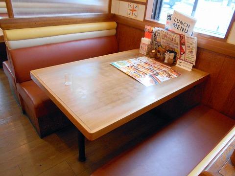 埼玉県春日部市大沼2丁目にあるステーキ、ハンバーグの「ステーキのどん  春日部店」店内