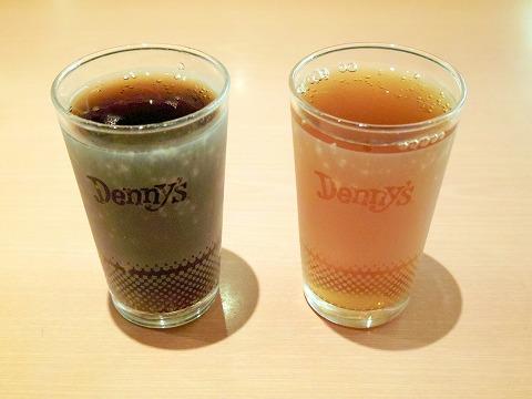 神奈川県横浜市中区本牧和田にあるファミリーレストラン「デニーズ Denny's 新本牧店」ドリンクバー