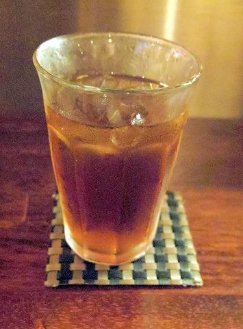 神奈川県川崎市中原区木月1丁目にある居酒屋「ちからや」ウーロン茶