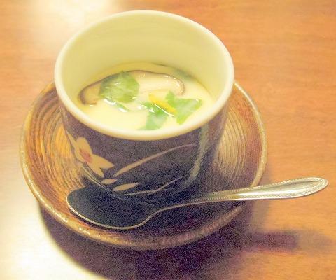 さいたま市岩槻区馬込にある寿司店「八恵寿司」茶碗蒸し