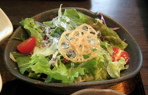 茨城県古河市長谷町にある和食の「和食 丘里 古河店」釜めしひれかつ膳