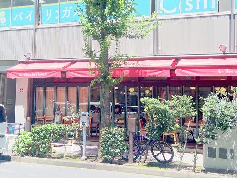 神奈川県横浜市中区太田町6丁目にあるイタリアンの「la Tenda Rossa ラ テンダロッサ」外観