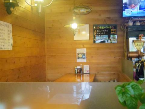 茨城県ひたちなか市相金町にある洋食店「GRILL I グリルアイ」店内