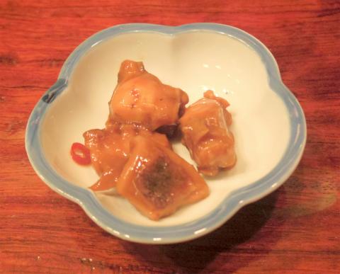 神奈川県横浜市中区麦田町4丁目にある焼鳥、魚介・海鮮料理、居酒屋の「やきとり割烹 花夏彩」お通し