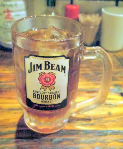 神奈川県大和市中央林間3丁目にある居酒屋「ANPON炭 あんぽん炭」ウーロン茶