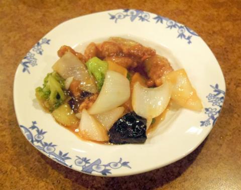 埼玉県和光市南1丁目にある中華、ファミリーレストランの「バーミヤン 和光南店」バルサミコの黒酢豚