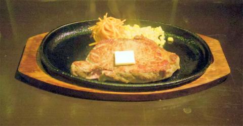 神奈川県横浜市中区本牧町1丁目にある「ステーキハウス MOーMOー 横浜本牧店」サーロイン300g