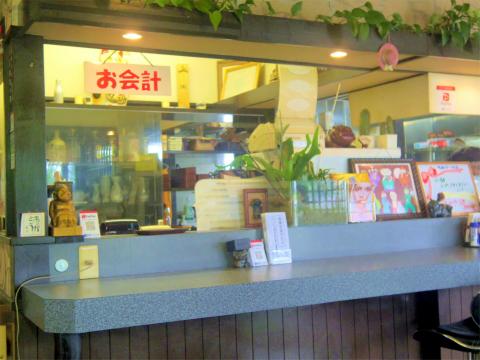 埼玉県川越市古谷上にあるステーキ、ハンバーグのお店「ステーキレストラン真」店内