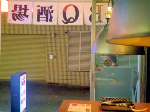 東京都新宿区大久保1丁目にある焼肉店「セルフ焼肉専門 焼肉じょんじょん 東新宿店」店内